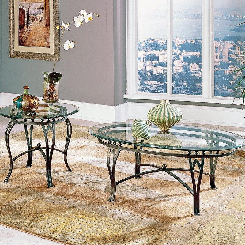 steve silver furniture madrid coffee table set & reviews | wayfair