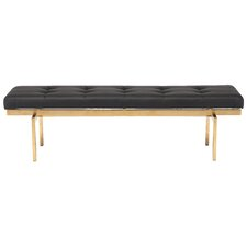 Louve Upholstered Bedroom Bench by Nuevo