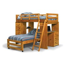 Twin L-Shaped Bunk Bed by Chelsea Home