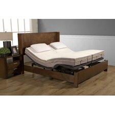 8 Memory Foam Mattress and M1500 Adjustable Base by Alwyn Home