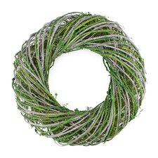 Twig and Moss Artificial Spring Wreath