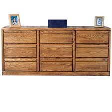 Bullnose 9 Drawer Dresser by Forest Designs