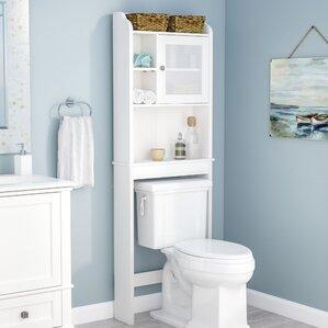 23 5 W X 68 H Over The Toilet Storage