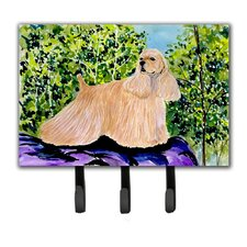 Cocker Spaniel Leash Holder and Key Hook by Caroline's Treasures