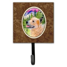 Australian Cattle Dog Leash Holder and Wall Hook by Caroline's Treasures