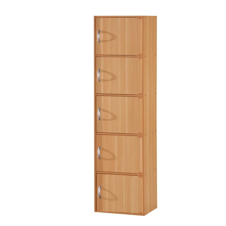 Rebrilliant 5 door storage cabinet reviews wayfair for One day doors and closets reviews