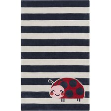 Young Life Hand-Tufted Navy/Gray Kids Rug