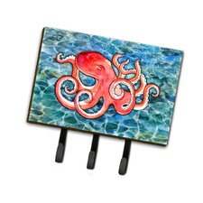 Octopus Leash or Key Holder by Caroline's Treasures