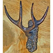 Mule Deer Antler Hook by Timber Bronze 53, LLC