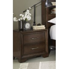 August 2 Drawer Nightstand by Alcott Hill