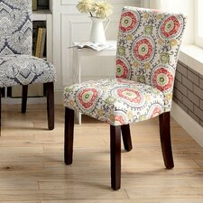 Stuyvesant Printed Parsons Chair (Set of 2) by Alcott Hill