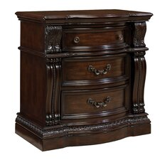 Churchill 3 Drawer Bachelor's Chest by Standard Furniture