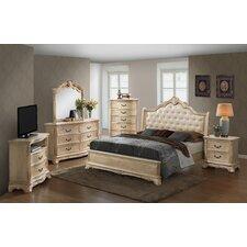 Longstaff Sleigh Customizable Bedroom Set by Astoria Grand