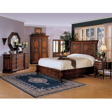 Monte Bianca California King Platform Customizable Bedroom Set by Eastern Legends