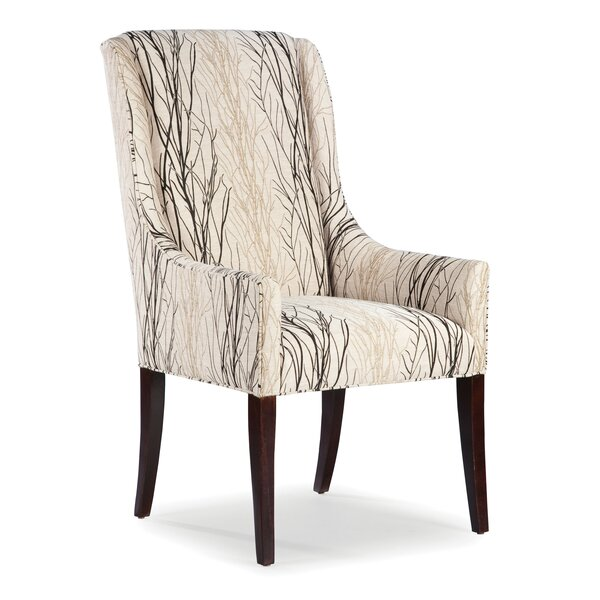High Dining Room Chairs: Fairfield Chair High Back Dining Arm Chair & Reviews