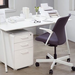 office chairs bookcases filing cabinets - White Modern Office Furniture