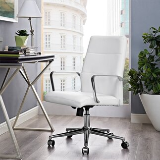 office chairs - White Modern Office Furniture