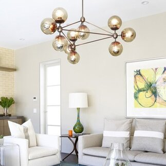 10 modern chandeliers that shine bright - Modern Dining Room Light Fixture