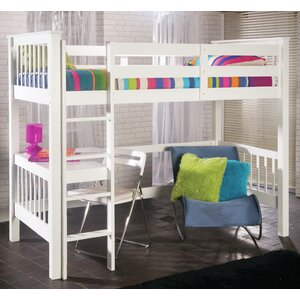Holbrook High Sleeper Bed with Build-In Desk