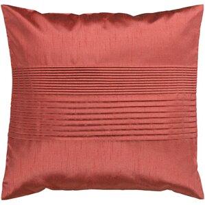 selina pleated throw pillow