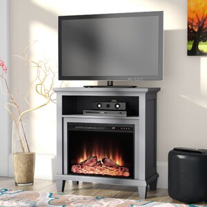 Rosendale 32 TV Stand with Fireplace by Andover Mills