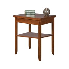 Mission Pasadena Office End Table by kathy ireland Home by Martin Furniture