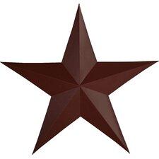 Raised Star Wall Décor