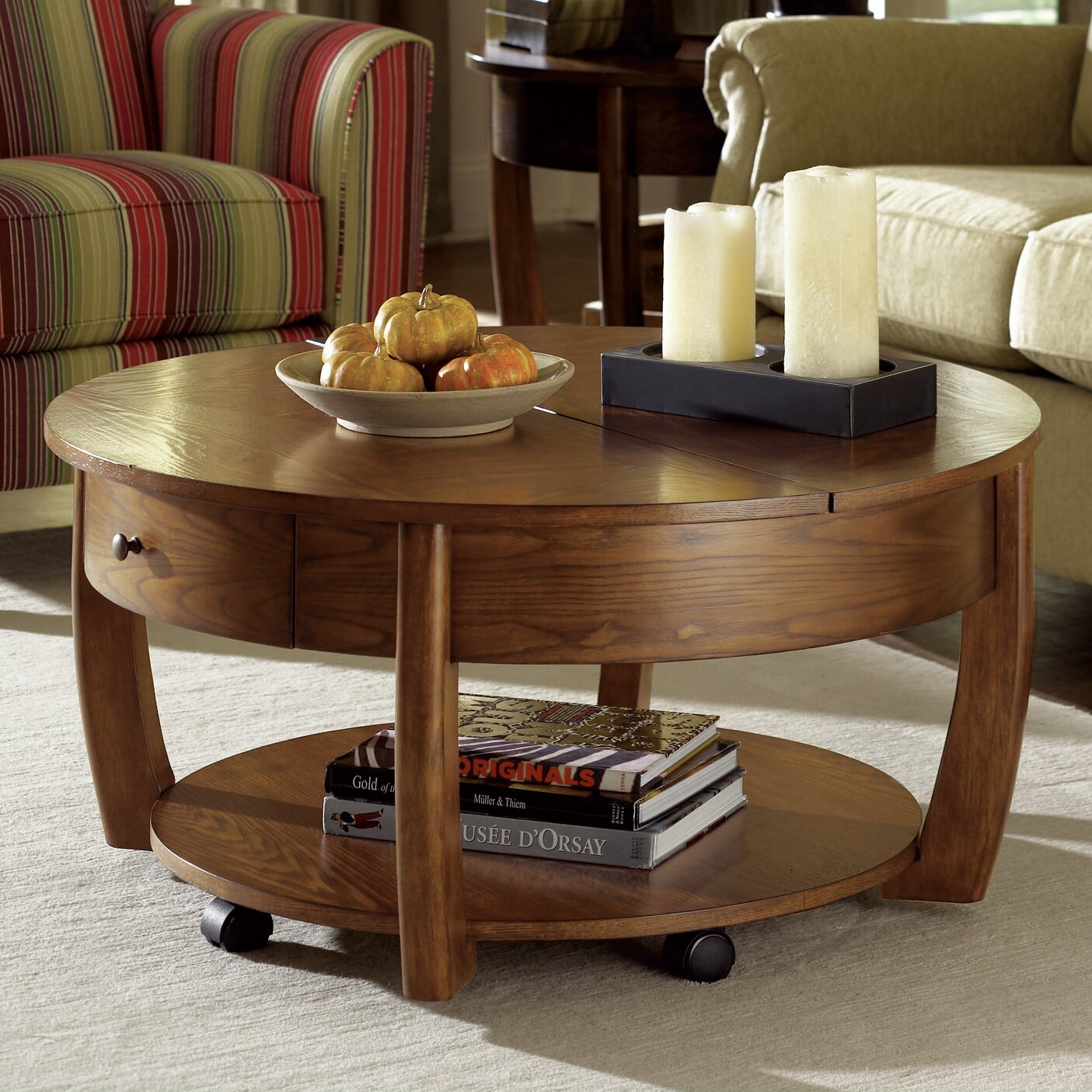 Pie Shaped Lift Top Coffee Table Instacoffeetable