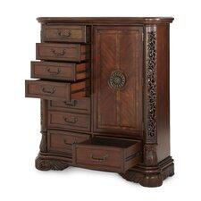 Excelsior 8 Drawer Gentleman's Chest by Michael Amini (AICO)