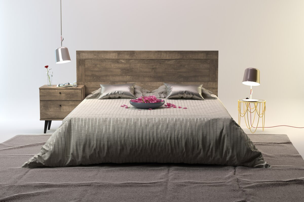 headboards youll love wayfair - Bed Frames With Headboard