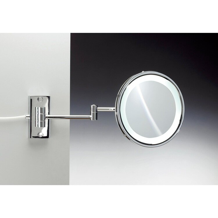 Wall Mount Magnifying Mirror windischnameeks wall mounted magnifying mirror | wayfair