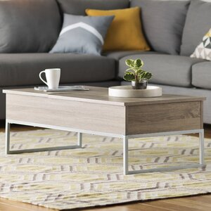 Pettis Coffee Table with Lift Top by Mercury Row