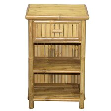 Slim 1 Drawer Nightstand by Bamboo54