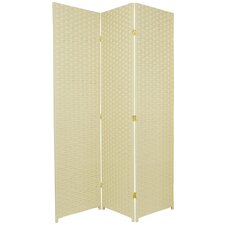 71 x 51 3 Panel Room Divider by Oriental Furniture