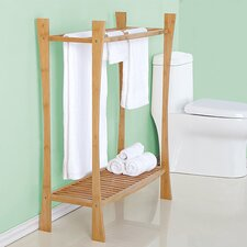 Bamboo 31.1 W x 39.76 H Bathroom Shelf by BEST LIVING INC