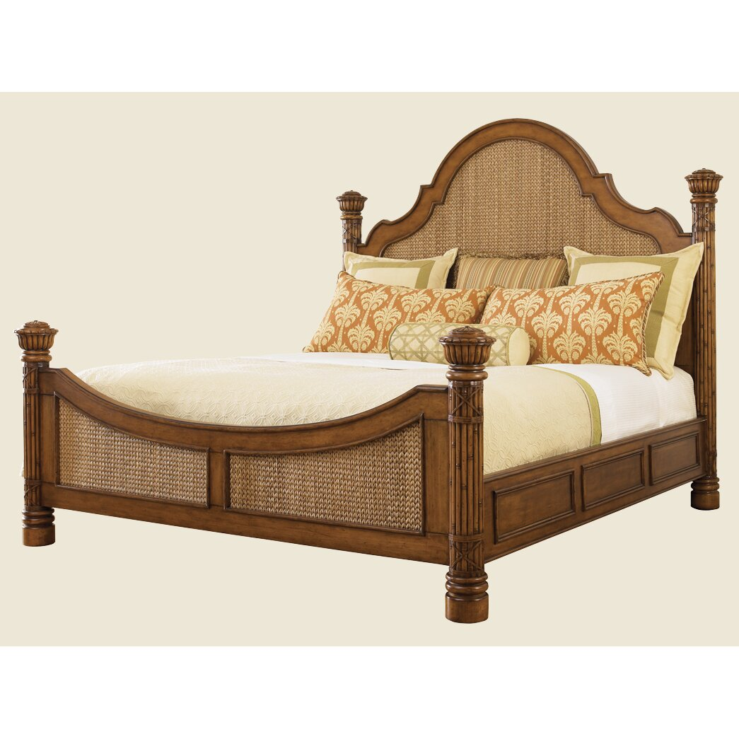 Panel Beds Bed A2159sjpg Newport Upholstered Panel Bed Panel Bed In Antique White Finish