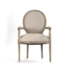 Medallion Armchair by Zentique Inc.