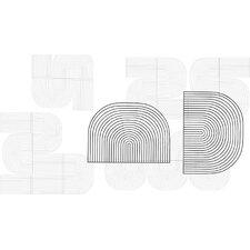 Modular Curved Art Wall Décor (Set of 2)