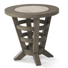 Music City Round End Table by Trisha Yearwood Home Collection
