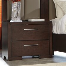Miranda 2 Drawer Nightstand by Latitude Run