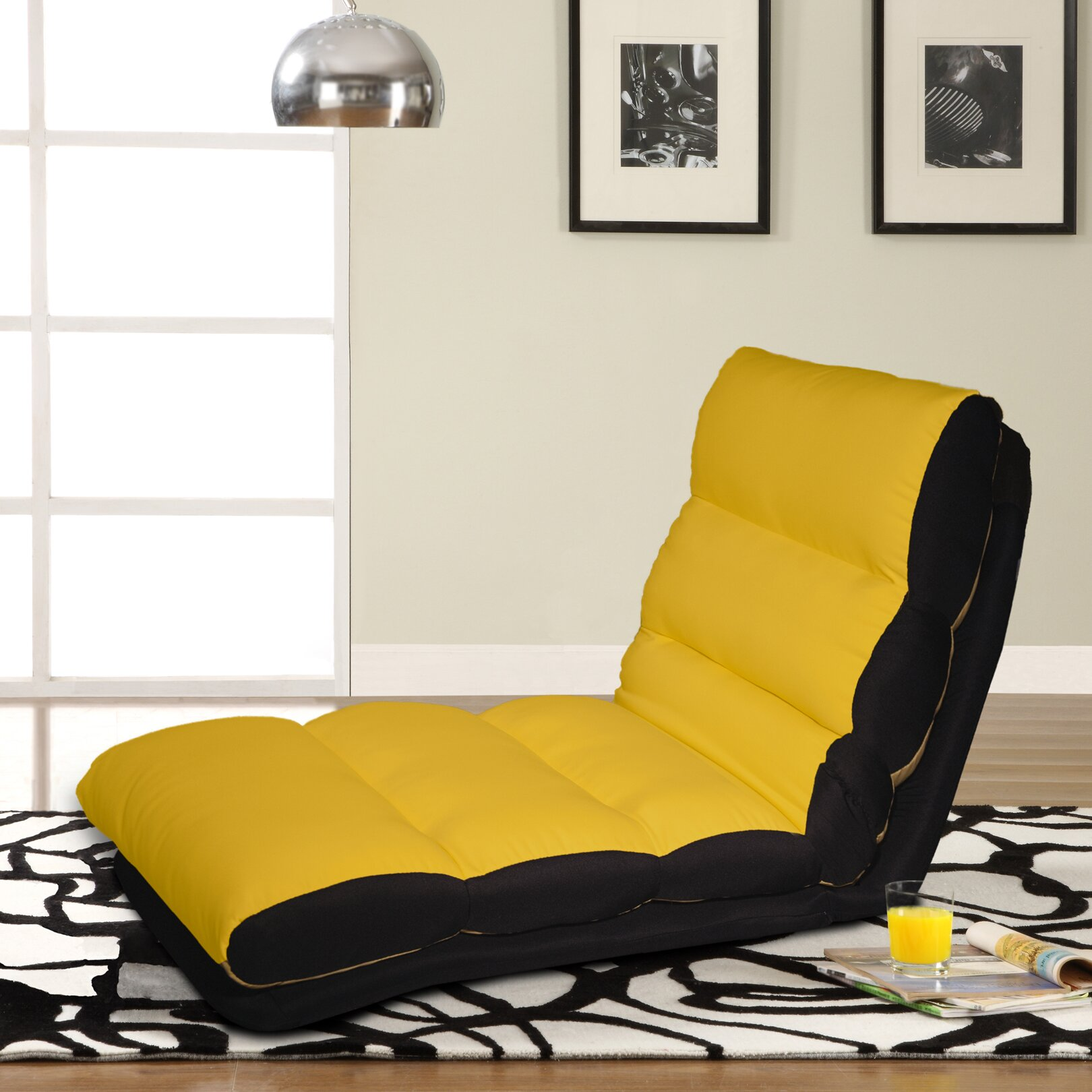 Lifestyle solutions turbo convertible chaise lounger for Chaise convertible