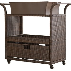Elliot Patio Serving Cart