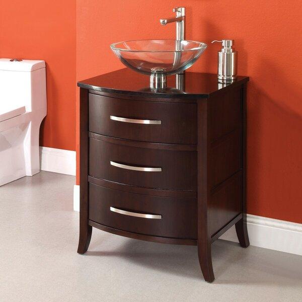 "Lola Coffee Table With Storage: DECOLAV Lola 25"" Single Bathroom Vanity Set & Reviews"