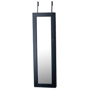 Isaac Mirrored Jewelry Armoire