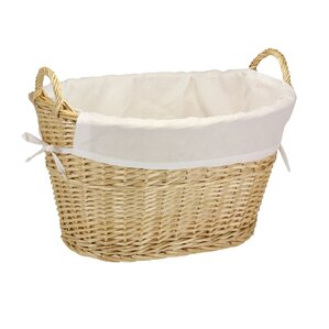 Lined Laundry Basket