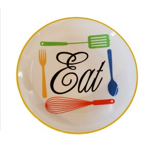 Hill Ceramic 'Eat' Plate