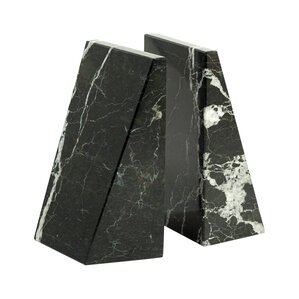 Aaron Marble Bookends (Set of 2)