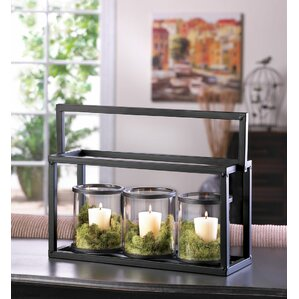 4 Piece Ironside Candle Display Set