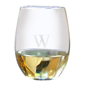 Lila Personalized Stemless Wine Glass (Set of 4)