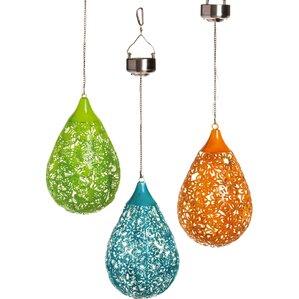 Shayna Hanging Solar Lantern (Set of 3)